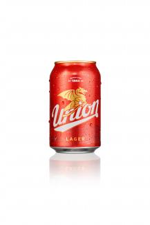 Union lager 0,33 pločevinka - orošena