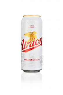 Union brezalkoholno 0,5 pločevinka - orošena