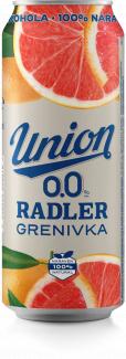 Union Radler 0.0 grenivka 0,5 pločevinka
