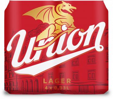 Union lager 4x0,33 pločevinka